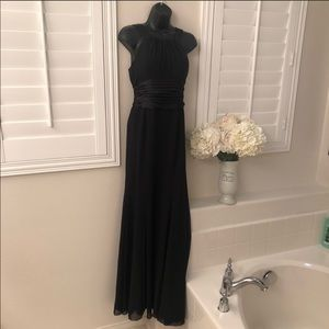 Beautiful Black Bridesmaids Dress